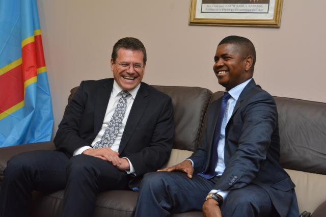 Visit of Maroš Šefčovič, Vice-President of the EC, to the Democratic Republic of the Congo