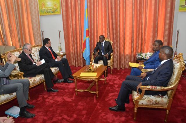 Visite de Maroš Šefčovič, vice-président de la CE, en République démocratique du Congo