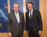 Visit of François Baroin, President of the Association of Mayors of France, to the EC