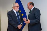 Visit of Pedro Antonio Sánchez, President of the Regional Government of Murcia, to the EC