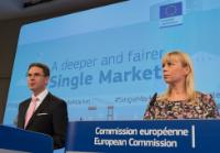 Joint press conference by Jyrki Katainen, Vice-President of the EC, and Elżbieta Bieńkowska, Member of the EC, on the Single Market Strategy