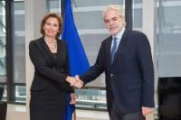 Visit of Laura Thompson, Deputy Director General of the IOM, to the EC