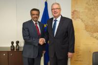 Visit of Tedros Adhanom, Ethiopian Minister for Foreign Affairs, to the EC