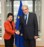 Visit of Margaret Chan, Director General of the World Health Organization (WHO), to the EC