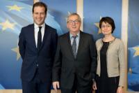 Visite de Lodewijk Asscher, vice-Premier ministre néerlandais et ministre des Affaires sociales et de l'Emploi, à la CE