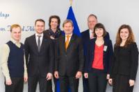 Visite des représentants de la société civile ukrainienne à la CE