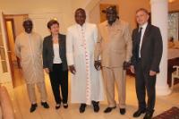 Visite de Kristalina Georgieva, vice-présidente de la CE, en République centrafricaine