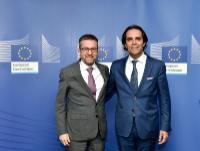 Visite de Miguel de Albuquerque, président du gouvernement de la Région autonome de Madère, à la CE