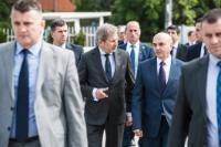 Visite de Johannes Hahn, membre de la CE, au Kosovo