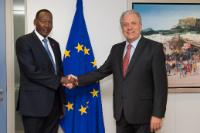 Visit of Joseph Ole Nkaissery, Kenyan Cabinet Secretary for Internal Security and Coordination, to the EC