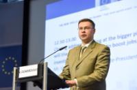Participation de Valdis Dombrovskis, vice-président de la CE, Marianne Thyssen et Tibor Navracsics, membres de la CE, à la conférence de lancement de la nouvelle stratégie en matière de compétences pour l'Europe