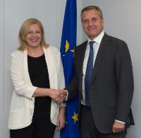 Visit of Gyula Molnár, President of the Hungarian Socialist Party (MSzP), to the EC