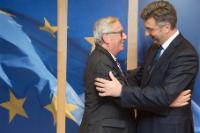 Visite d'Andrej Plenković, membre du PE et président de l'Union démocratique croate, à la CE
