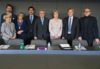 Visite de Jean-Claude Juncker, président de la CE, et plusieurs membres du Collège de la CE à Strasbourg