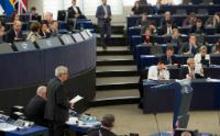 Visit of Jean-Claude Juncker, President of the EC, and several Members of the College of the EC to Strasbourg