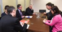 Visit of Ioan Dragoș Tudorache, Romanian Minister for Internal Affairs,  to the EC