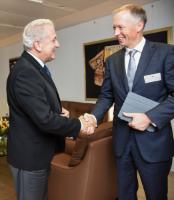 Visite de Markus Borchert, président de DigitalEurope, à la CE