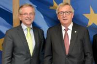 Visite de Wilhelm Molterer, directeur général du FEIS, à la CE