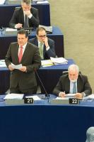 Participation of Maroš Šefčovič, Vice-President of the EC, and Miguel Arias Cañete, Member of the EC, in the EP plenary session