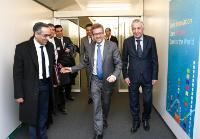 Visit of Khalil Amiri, Tunisian Secretary of State in charge of Research, to the EC