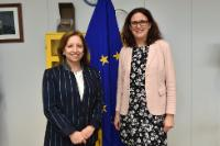 Visit of Marisa Poncela, Spanish State Secretary for Trade, to the EC
