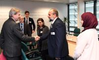 Visit of local representatives of Libya, to the EC