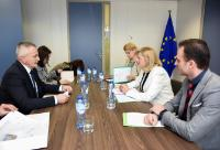 Visit of Șerban Constantin Valeca, Romanian Minister for Research and Innovation, to the EC