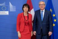 Visit of Doris Leuthard, President of the Swiss Confederation, to the EC