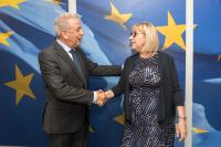 Visit of Tsetska Tsacheva, Bulgarian Minister for Justice, to the EC