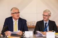 Visit of Michel Barnier, Chief Negotiator for Article 50 Negotiations with the United Kingdom, to the port of Zeebrugge