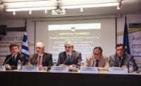 Visite de Christos Stylianides, membre de la CE, en Grèce