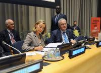 Participation of several Members of the EC to the 72nd session of the United Nations General Assembly, to the USA