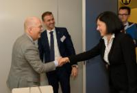 Visit of Mats Harborn, President of the Executive Committee of the European Union Chamber of Commerce in China, and Executive Director of Scania Strategic Office in China, to the EC.
