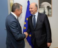Visit of Stavros Theodorakis, Member of the Greek Parliament and Founder and Leader of the Greek political party 'To Potami' (The River), to the EC