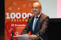 Tibor Navracsiscs, Member of the EC, at the 100 000 MSCA Fellows Award Ceremony