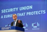 Press conference of Julian King, Member of the EC, on the Anti-terrorism and Security package