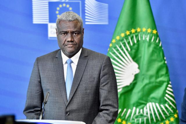 Visit of Moussa Faki Mahamat, Chairperson of the African Union Commission, to the EC