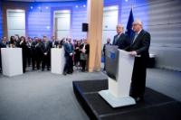 Participation of Jean-Claude Juncker, President of the EC, in the annual New Year reception of the EP