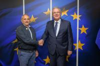 Visit of José Ramos-Horta, Minister of State, former President of Timor Leste, and Nobel Peace Prize 1996, to the EC