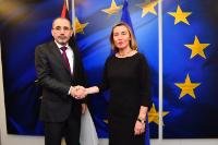 Visit of Ayman Al Safadi, Jordanian Minister for Foreign and Expatriate Affairs, to the EC