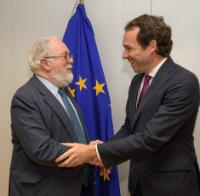 Visite de Marc Pons, conseiller au Territoire, à l'Énergie et à la Mobilité du gouvernement des Îles Baléares, à la CE