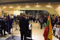 Participation de Vytenis Andriukaitis, membre de la CE, à l'ouverture de l'exposition 'LAA's Centennial collection 2018'
