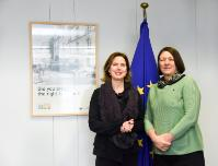 Visit of Cora van Nieuwenhuizen-Wijbenga, Dutch Minister of Infrastructure, Public Works and Water Management, to the EC