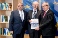 Visit of Herman Van Rompuy, former President of the European Council, to the EC