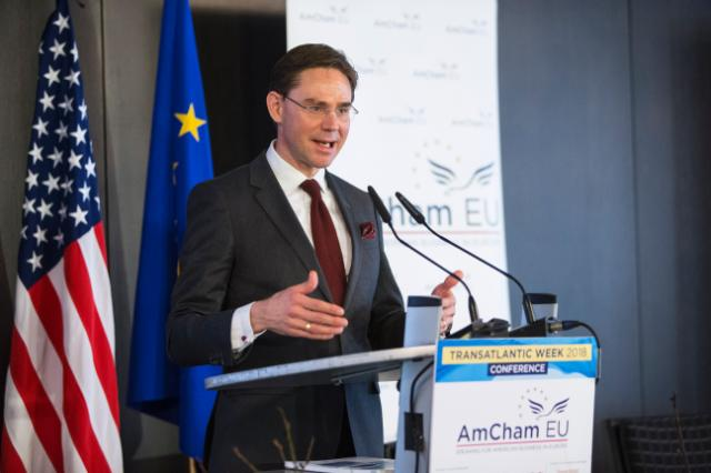 Participation of Jyrki Katainen, Vice-President of the EC, and Vĕra Jourová, Member of the EC, at the Transatlantic Conference 2018