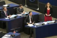 Participation of Jyrki Katainen, Vice-President of the EC and Cecilia Malmström, Member of the EC, at the Plenary session of the EP