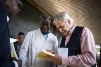 Visite de Christos Stylianides, membre de la CE, en République démocratique du Congo
