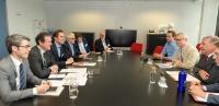 Visite d'une délégation d'Europêche à la CE