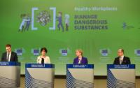 Press conference 'Healthy Workplaces Manage Dangerous Substances'