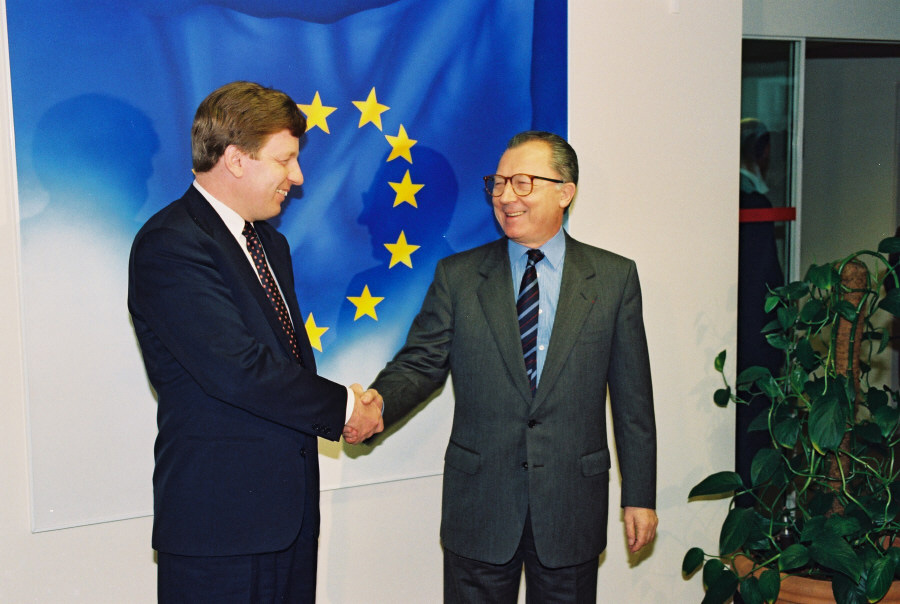 Visit of Esko Aho, Finnish Prime Minister, to the EC